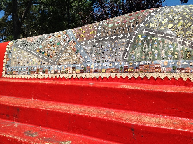 Sydenham Green mosaic art