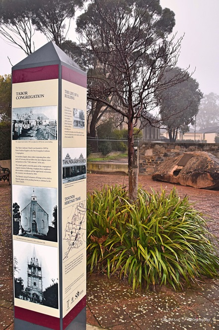 Town Walk of Tanunda, Bethany, Langmeil, Tanunda Hotel, Tabor Church, Langmeil Church, Heysen Trail, Mawson Trail