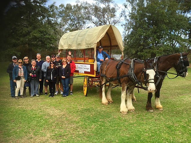 Tour, Hunter Valley, horses, transport, family, fun