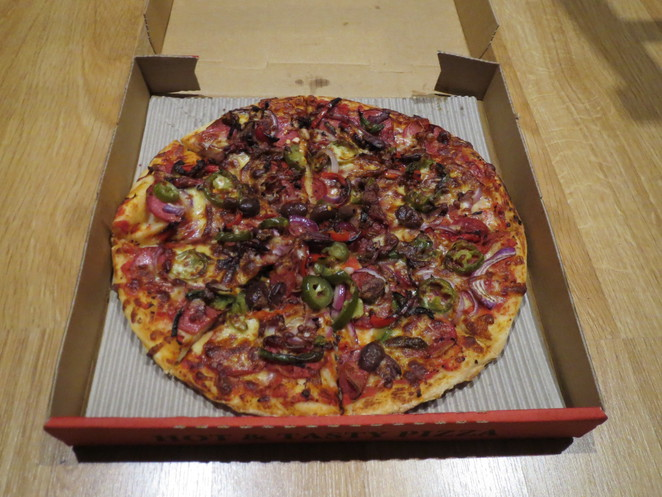 Uncle Rob's Pizza, Mexican Pizza, Adelaide