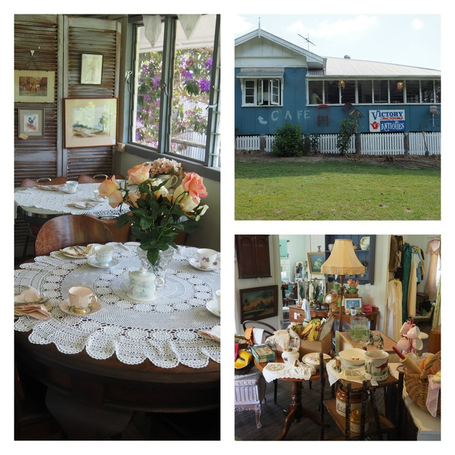 Victory Tea House, Antiques, Glass House Mountains, Old Gympie Road