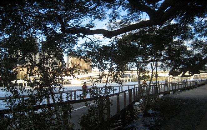 The are many great places to walk in Brisbane