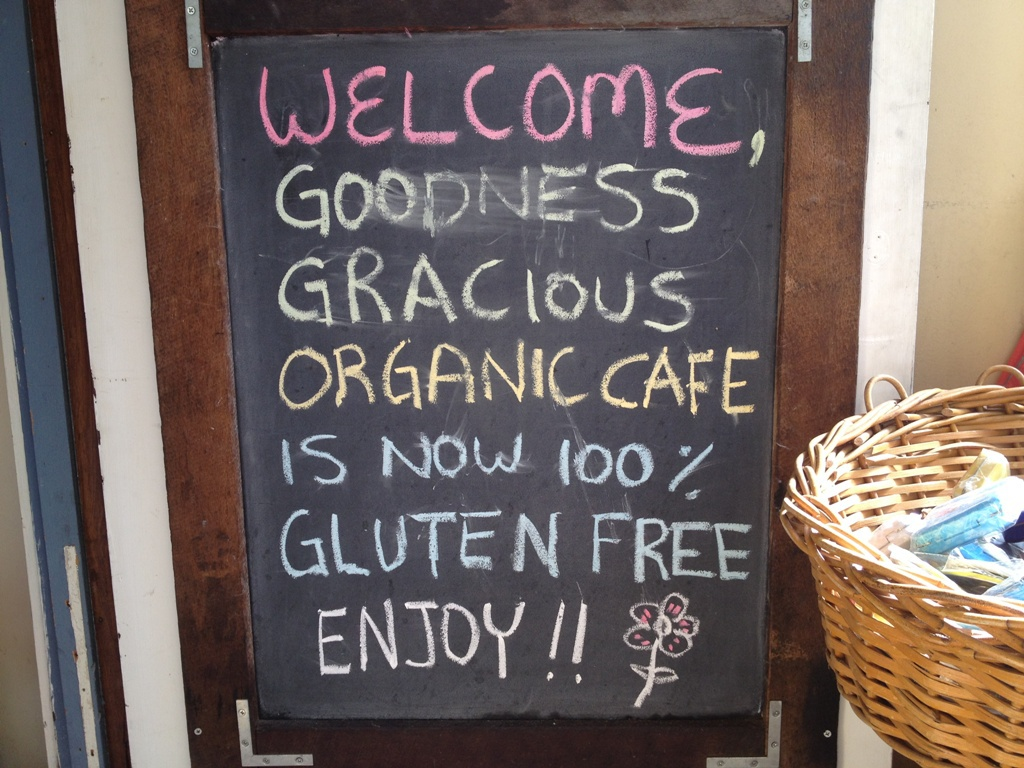 Enlightone: Goodness Gracious Organic And Gluten Free Café