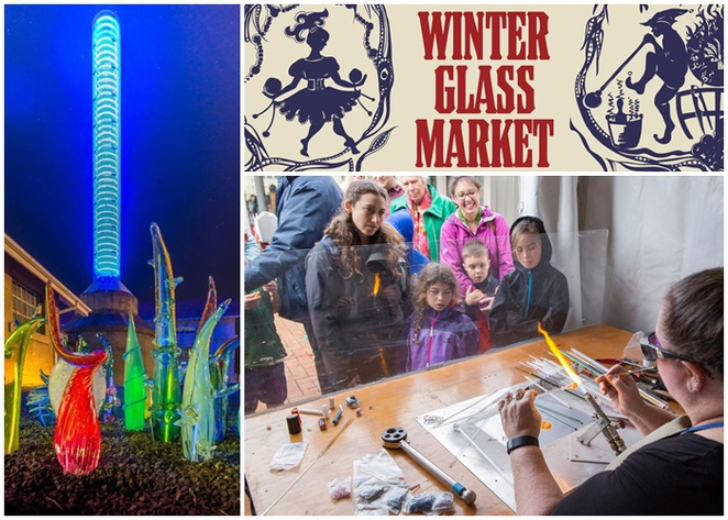 winter glass market, canberra, canberra glassworks, ACT, tourist attractions, markets, family, glass art, exhibitions,
