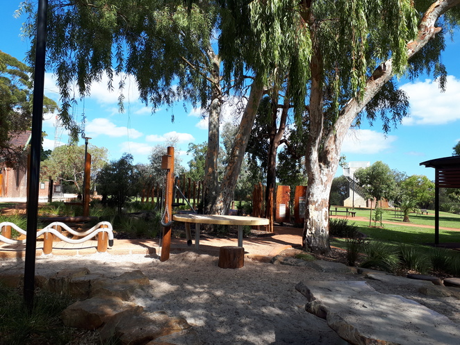 Wireless Hill Park, playground, nature play, reserve, Ardross, bush