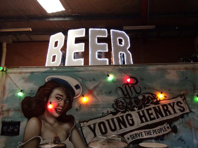 young henrys, beer, brewery, tasting bar, craft beer, newtown