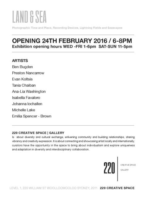 220creativespace, 220william, 220gallery, sydneyartist, godarlo