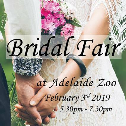 Adelaide Zoo Bridal Expo 2019, Bridal Expo 2019, Wedding expo 2019 Adelaide