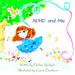 ADHD and Me, books about ADHD for kids, books about ADHD for children, children's books about ADHD, new children's books, children's books published in 2021, girls with ADHD, books about girls with ADHD, books about disabilities