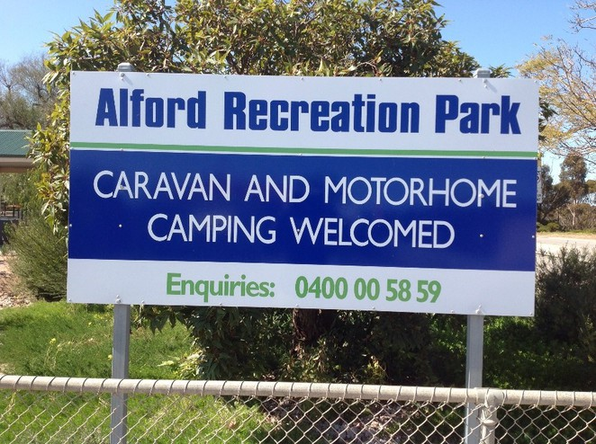 Alford Caravan park, camping and caravaning, overnight stay, tourism, travel, motoring, grey nomads, free parking, RV stops, trees, South Australia