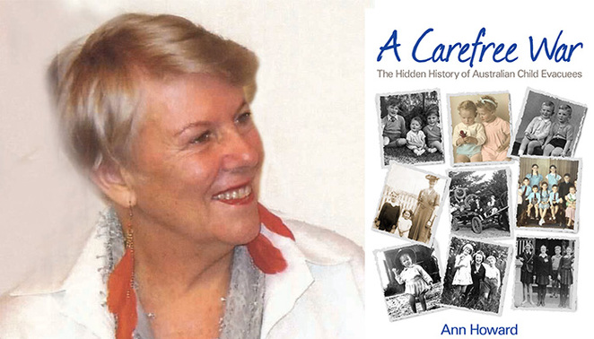 Ann-Howard, Sydney Mechanics' School of Arts, SMSA, WWII, child evacuees, free events in August