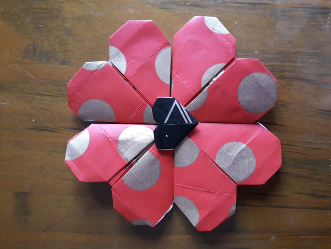 ANZAC, POPPIES,origami, MoB,