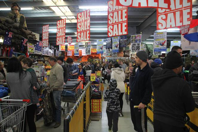 Aussie Disposals Warehouse Gala Day Sale