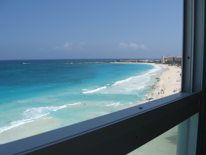 BelleVue Beach Paradise, Room with a view, hotel room view, Beach view, paradise, vacation, Cancun Mexico