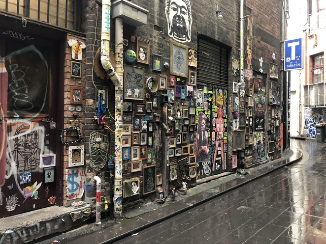 City Quest Melbourne Self-guided walks Melbourne Laneways<