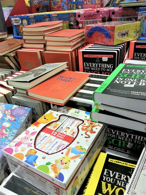 Costco Epping, books, stationery