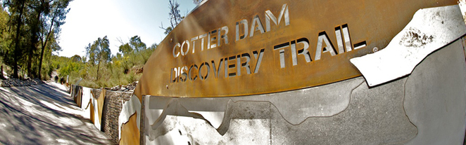 cotter dam discovery trail