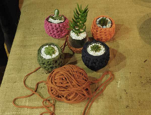Create With Us, workshop, crochet, terranium