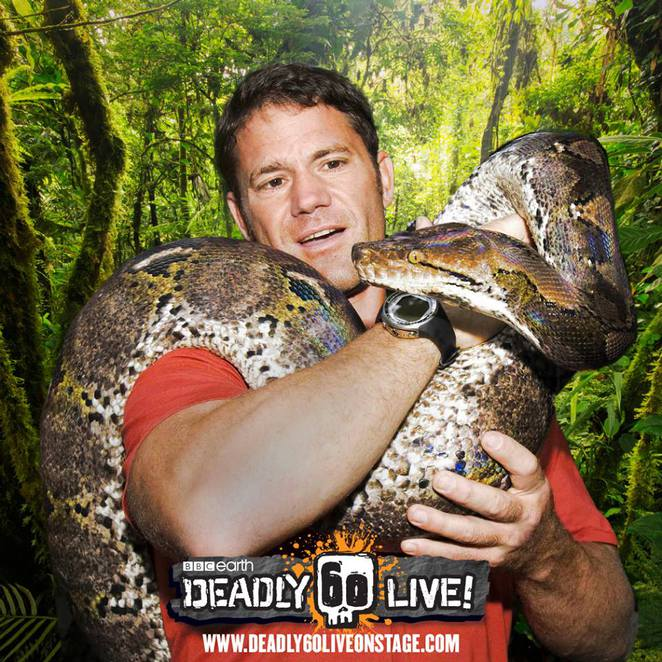 Deadly 60, Weird Wild and Wonderful Tour, Steve Backshall, Adelaide, Adelaide Festival Theatre, Australia, wildlife
