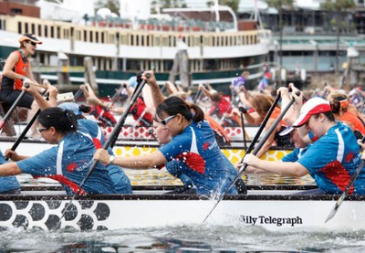 dragon boat races, sydney chinese new year festival