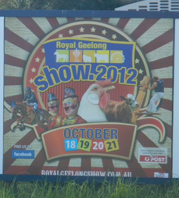 Royal Geelong Show 2012
