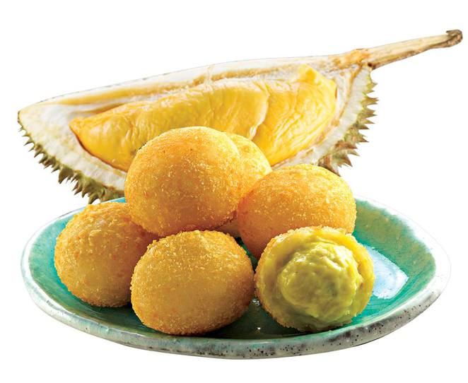 Durian Bomb, yummy food expo, singapore expo hall, food bazaar singapore,Frozt Pops, singapore must try food, singaporean favorite food