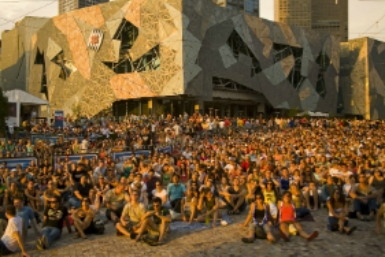 Fed Square Outdoor Cinema