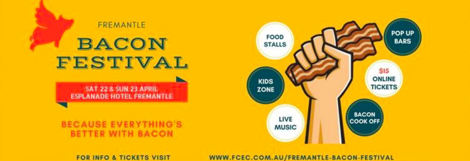 Fremantle Bacon Festival 2017, Esplanade Hotel Fremantle, Fremantle Festivals 2017, Bacon Festival Perth