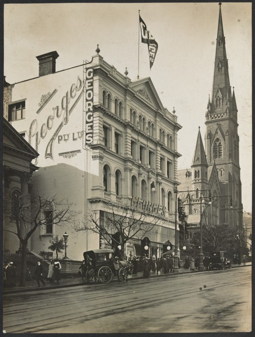 George's Department Store, Melbourne, Collins Street, Georges Building, John Grainger, Charles D'Ebro