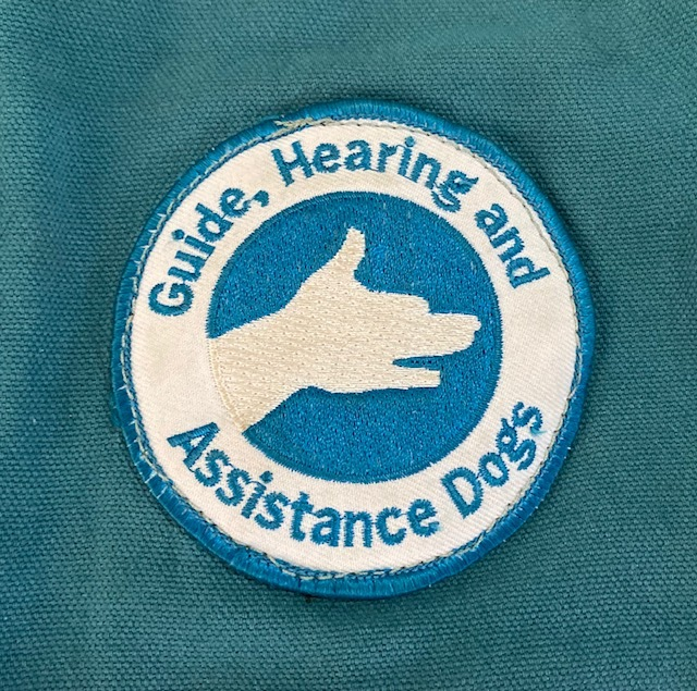 Queensland's Guide Hearing and Assistance Dogs patch
