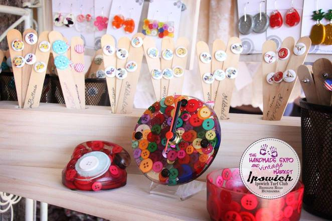 handmade vintage addicted buttons