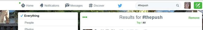 hashtag search, twitter, hashtag