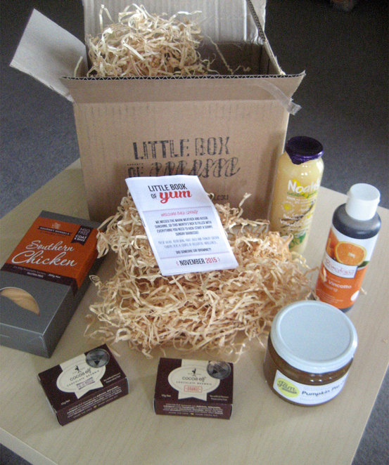 The products in my box