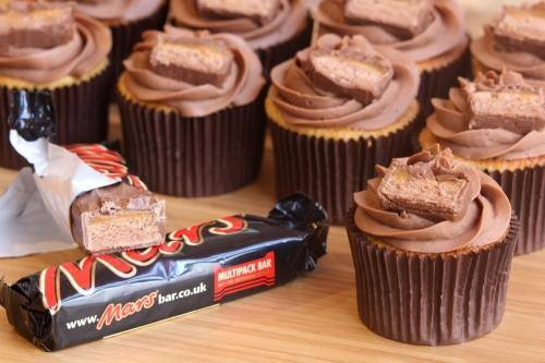 mars bar cupcake, fathers day melbourne