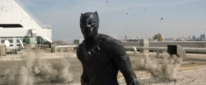 Black Panther in MARVEL's Captain America: Civil War