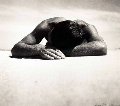 'Sunbaker' by Max Dupain, 1937. This image is from Wikipedia.
