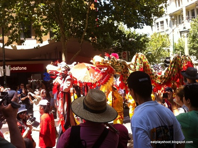 Melbourne Chinatown Parade