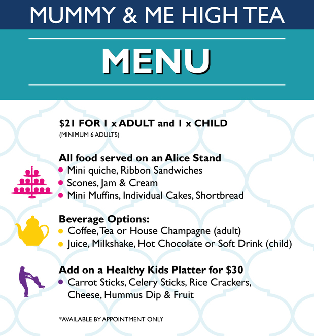Mummy & Me High Tea