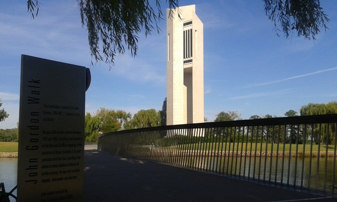 national carillon, kings park, canberra, ACT, RG Mezies walk, lake burley griffin circuit, boundless, national police memorial,