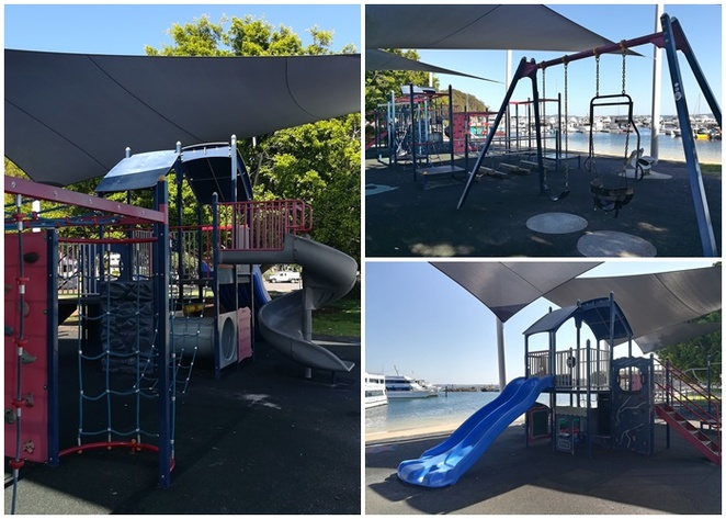 nelson bay playground, nelson bay, best playgrounds, playgrounds with shade, NSW, port stephens, parks, nelson bay foreshore, shady playgrounds in nelson bay, shade sails, things to do, kids, families, children, toddlers,