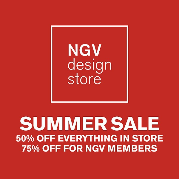 ngv, national gallery of victoria, Ian Potter Centre, Federation Square, summer sales melbourne, designer sales melbourne, january sales melbourne, design stores melbourne