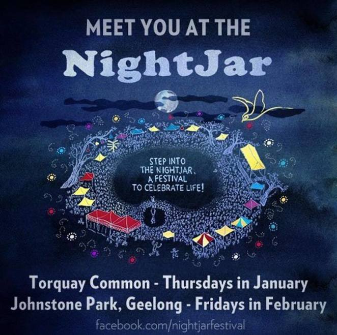 night jar festival geelong 2018, night jar festival torquay, community event, fun things to do, johnstone park, international food, emerging designers, street performers, bar, children's activities, central geelong, night life, dining, shopping, fun for families, relaxing night out, date night
