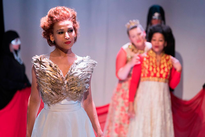 Orphee & Euridice Gluck Opera at Northcote Town Hall