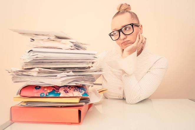 Overwhelmed by your paper work?