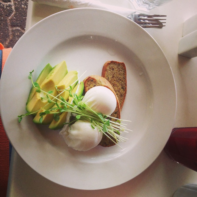 Paleo Cafe Adelaide Poached Eggs