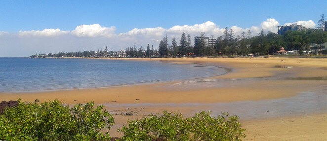 Redcliffe has the best beaches in the greater Brisbane area