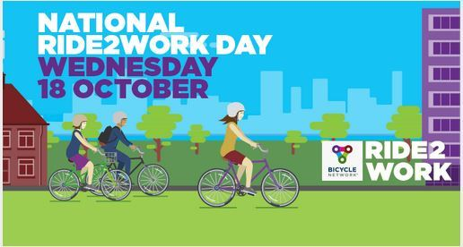 Ride2Work Day, Ride2Work, Darwin, free, National event
