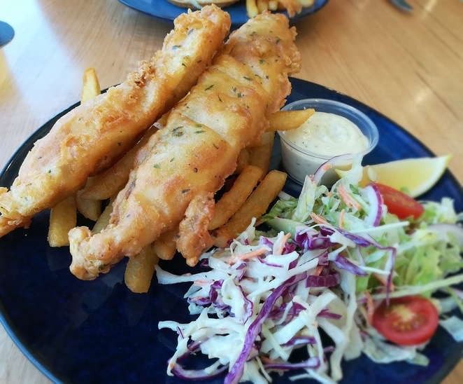 saltwater restaurant, fingal bay, fingal bay surf club, port stephens, NSW, lunch, dinner, wedding venue, romantic, restaurants with views, water views, beach views, function centre, nelson bay, barramundi, fish, fish and chips, lunch deal,