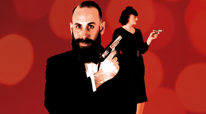 shaken a james bond cabaret review, Charlie D Barkle, Erin Hutchinson, melbourne cabaret festival 2018, community event, fun things to do, entertainment, shows, gigs, theatre, arts, nightlife, date night, chapel off chapel, opening gala, katya the minx from minsk, kabaret dietrich, nancy sinatra you only live once, god only knows the songs of brian wilson, sun rising, we've only just begun, music of the carpenters, shaken, a james bond cabaret, what doesn't kill you blah blah stronger, comedy, monash unji cabaret showcase, overiactng a period drama, late night jazz cabaret, the songs that saved your life, fire walk with us, the music of twin peaks, practically perfect, the music of julie anrews, someone's daughter, he's every woman, comma sutra, peter allen live in inverted commas, max riebi hard to handel, baby bi bi bi, cabaret, dolly diamond