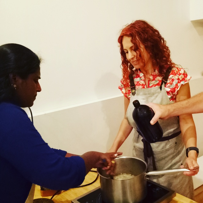 Sri lankan cooking classes, eat, prepare food, cooking with refugees, Free to feed, things to do